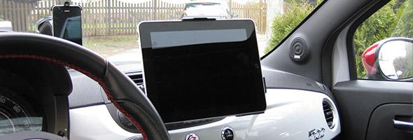 So baut Ihr ganz einfach das iPad in euer Auto ein
