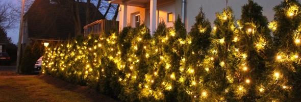 Profi Weihnachtsbeleuchtung von MK Illumination