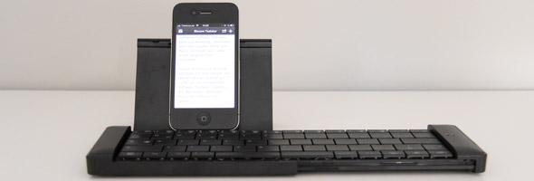 Die faltbare Bluetooth-Tastatur von Elecom