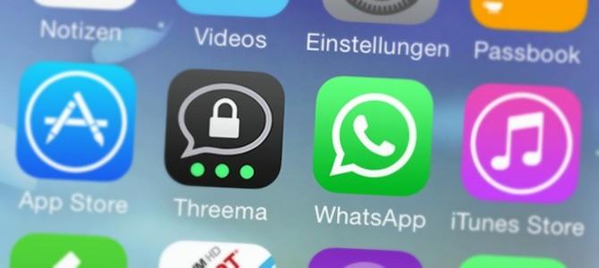 Threema, die Alternative zu WhatsApp