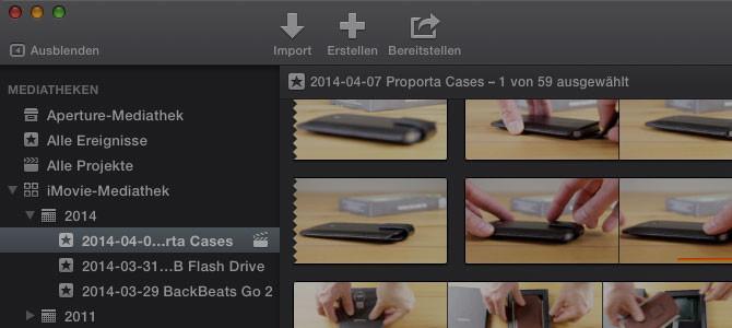 iMovie 10.0.3 mit vielen Verbesserungen erschienen