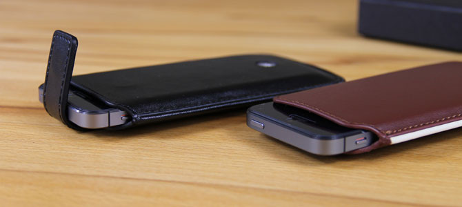 Very britisch – handgefertigte iPhone 5/5c/5s Lederhüllen von Proporta