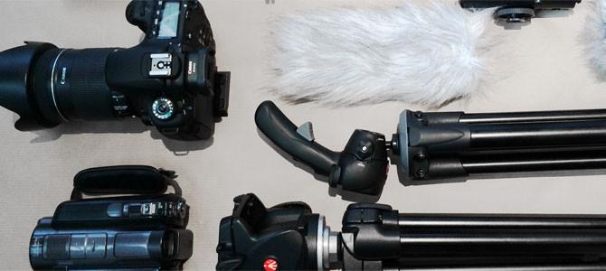 Unser derzeitiges Foto-Equipment Teil 1
