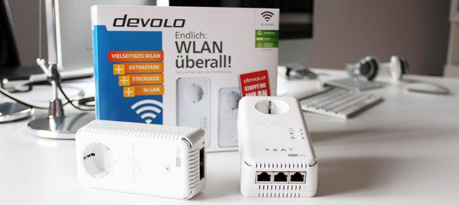 WLAN überall mit dLAN 500 AV Wireless+ von devolo