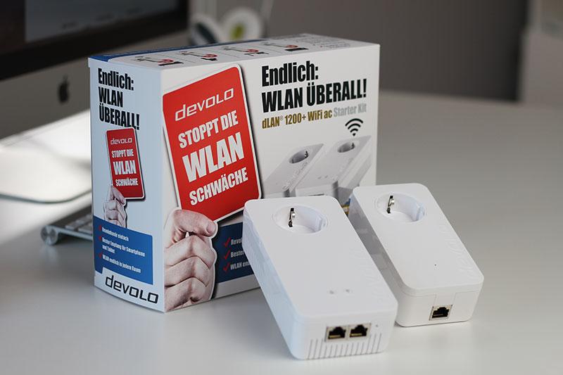 Das devolo dLAN 1200+ WiFi ac Starter Kit