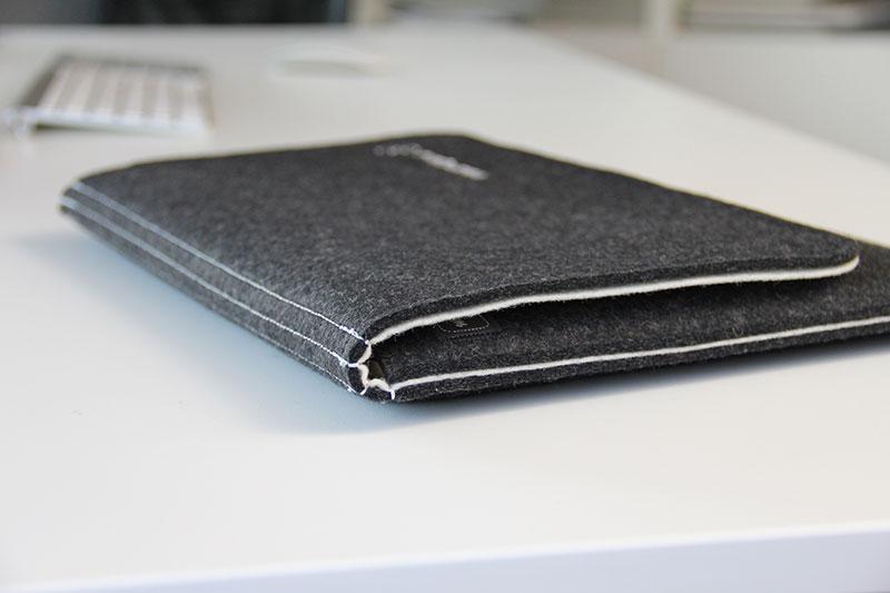 Das Macbook ist perfekt geschützt