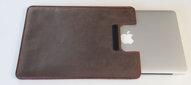 MacBook Pro Taschen Test: germanmade. Ledertasche