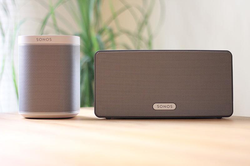 Sonos Play:1 und Play:3