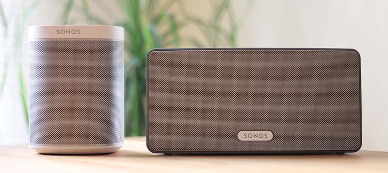 Sonos Play:1 und 3