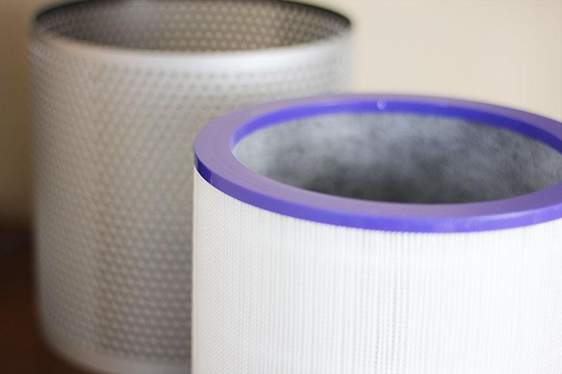 Der HEPA-Filter des Dyson Luftreinigers