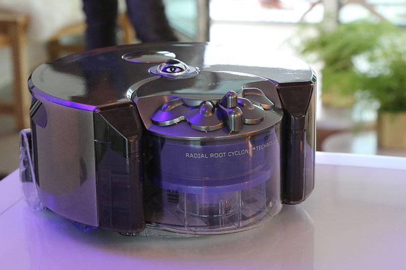 Dyson 360 Eye - kleiner und leistungsstärker als andere Saugroboter