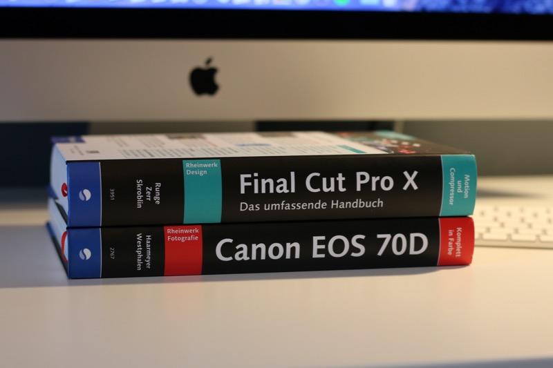 Rheinwerk Final Cut Pro X und Canon EOS 70 D