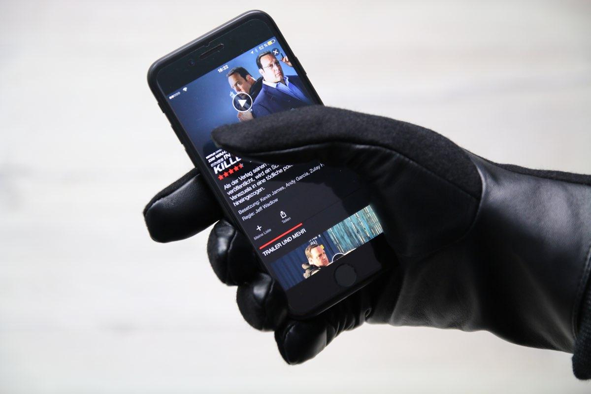 Mit den SmartGlove® bist du im Winter nicht eingeschränkt