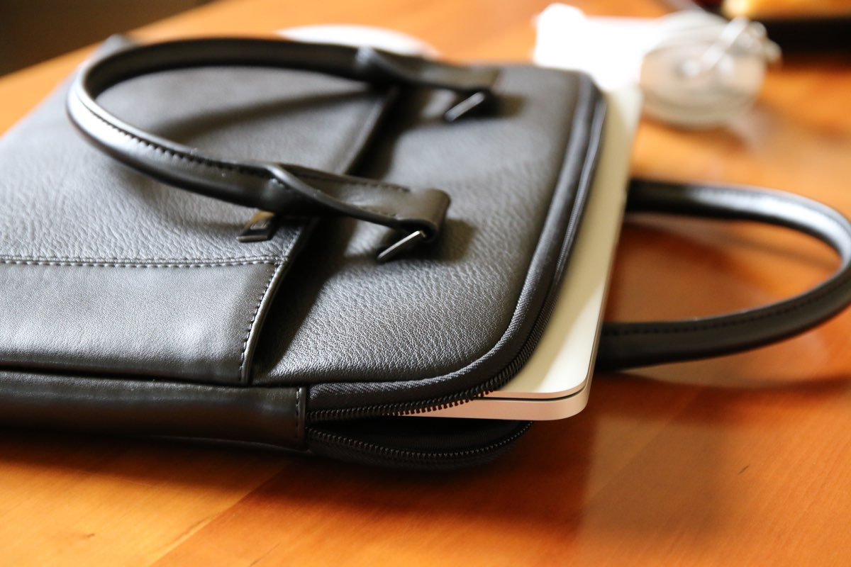 Artwizz Leather Bag - der perfekte Platz für dein MacBook