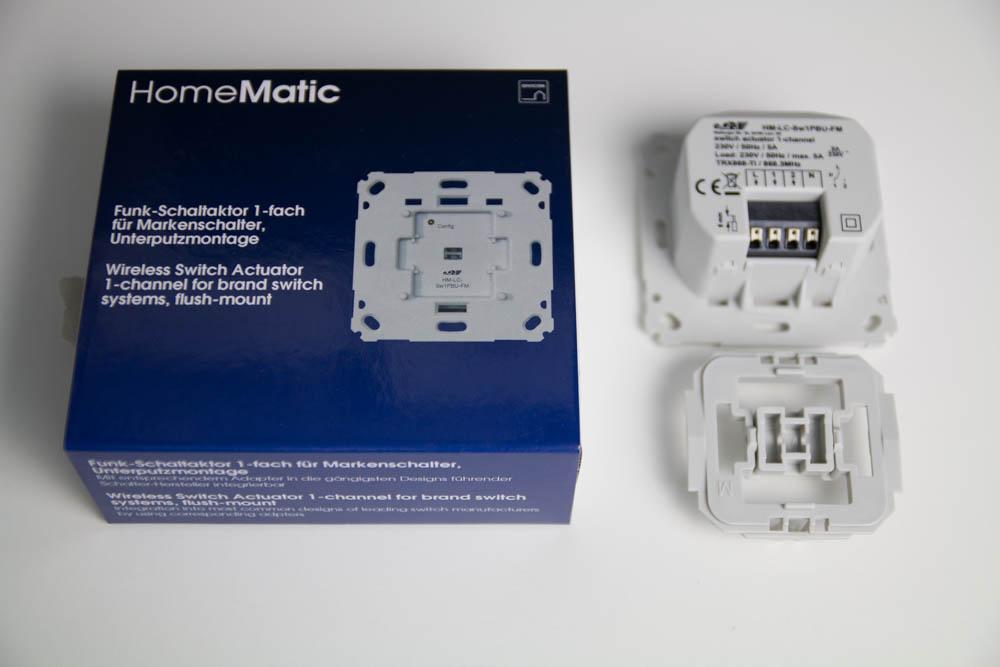HomeMatic Unterputz Schaltaktor
