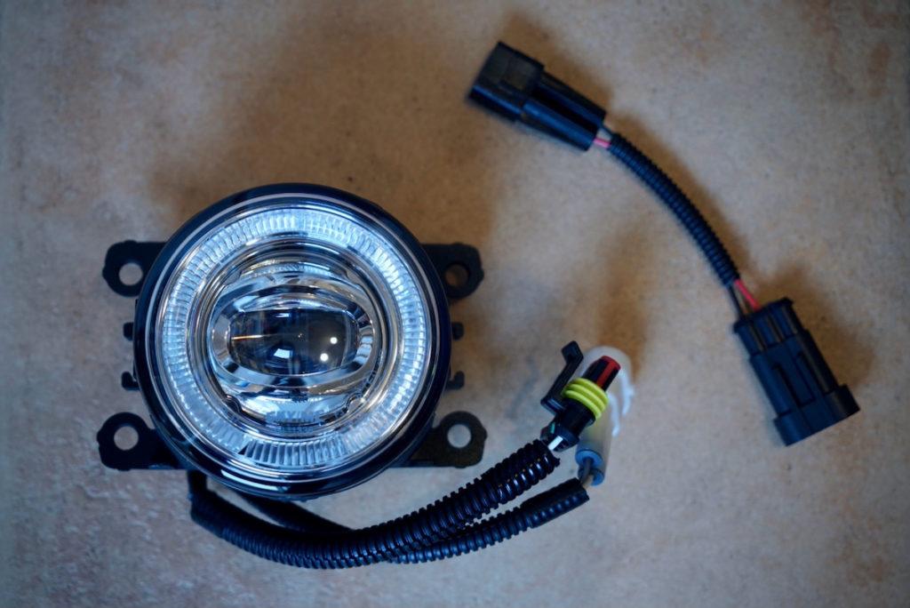 Nolden LED Tagfahr- / Nebelleuchte mit Adapter