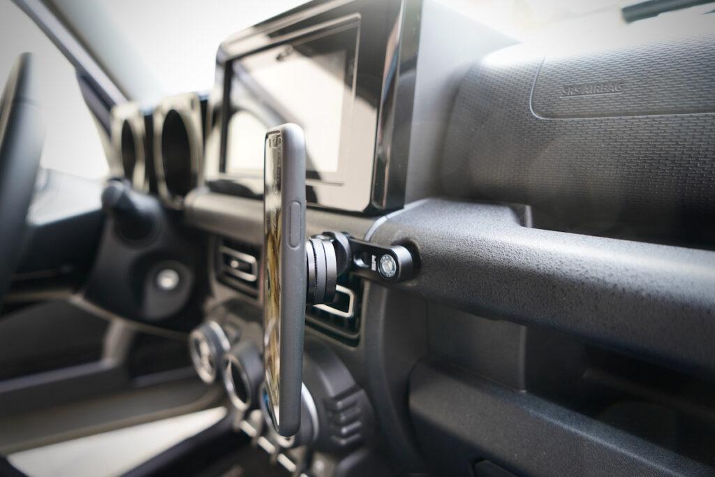 Die perfekte Smartphone Halterung für den Suzuki Jimny